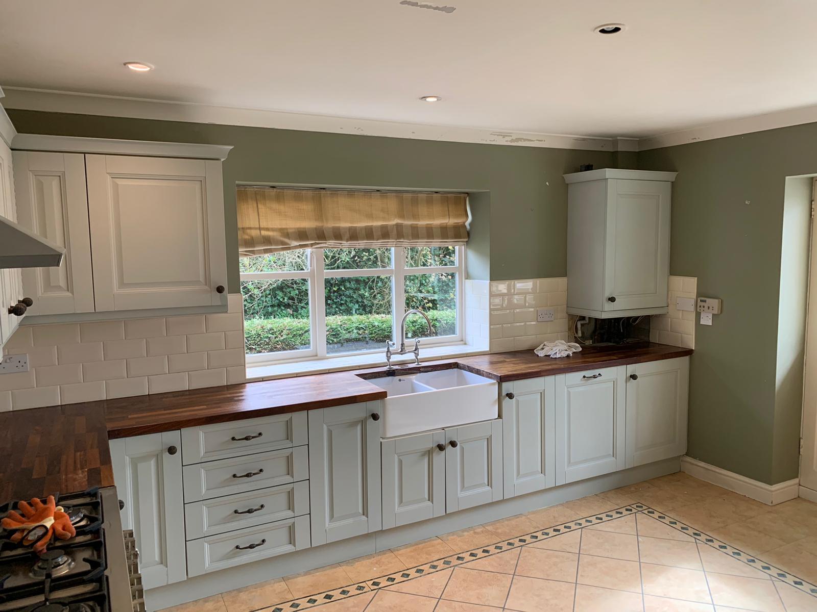 Respray Kitchen Cupboards
